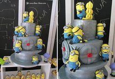 Banana Minion Birthday Party cake decoration ideas