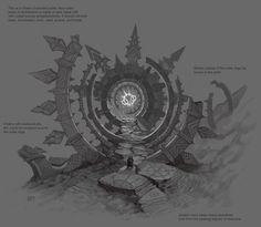 fantasy portal concept에 대한 이미지 검색결과