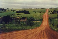 Prince Edward Island postcard: red clay roads by PEI Museum and Heritage