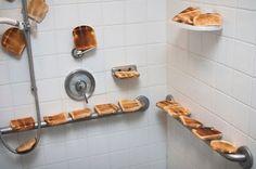 Breakfast in the shower
