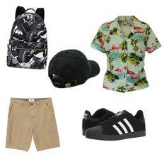"""""""Sad Rockingham boy who cries a lot"""" by blakeley-anthony ❤ liked on Polyvore featuring Billabong, adidas, Dolce&Gabbana, Vans, men's fashion and menswear"""