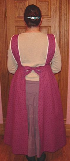 24 Super Ideas For Sewing Aprons Pattern Buttons Apron Pattern Free, Bib Pattern, Sewing Aprons, Dress Sewing Patterns, Sewing Patterns Free, Apron Patterns, Free Sewing, Victorian Aprons, Kitchens