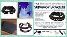 Trades of Hope, Survivor Bracelet, fair trade gifts for men