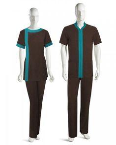 A modern and sleek approach to classic Housekeeping UNIFORMS. Cafe Uniform, Spa Uniform, Uniform Shop, Hotel Uniform, Medical Uniforms, Work Uniforms, Office Uniform For Women, Housekeeping Uniform, Beauty Uniforms