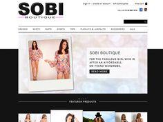Sobi Boutique new online store (sobiboutique.com.au)