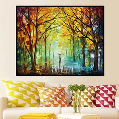 """Modern Picture Wall Art Romantic Walk in The Rain Painting Prints on Canvas Picture for Living Room Bedroom Wall Decor Unframed"" Rain Painting, Spray Painting, Figure Painting, Painting Frames, Painting Prints, Canvas Prints, Living Room Bedroom, Bedroom Wall, Love Wall Art"