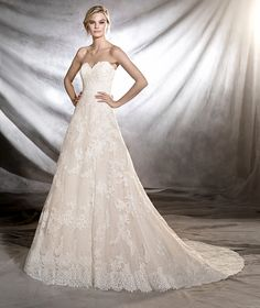 ONIA - Princess wedding dress, fitted to the hips