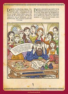 © Barnabus - Historia obrazkowa dla Muzeum Historii Żydów Polskich ▪ Pictorial story for The Museum of the History of Polish #Jews - page 09.