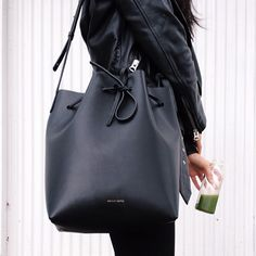 myblogisnoname:  holdmydress:  Mansur Gavriel bucket bag - AndyHeart  i follow back similar blogs