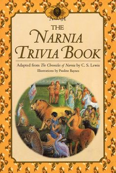 The Narnia Trivia Book--how much do you know? Trivia Games, Chronicles Of Narnia, Fantasy Series, 100 Questions, Nonfiction, That's Entertainment, Game Night, Pastor, Kindle