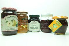 Selection of gourmet Jams