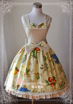 Magic Printed Novelty Dresses Patchwork JSK Lolita Dress $78.99