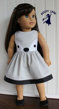Just Released: Fiona Fox Dress Pattern A new doll clothes pattern for American Girl Dolls and other similarly sized 18″ dolls: Fiona Fox! The sewing pattern also includes sewing instructions to make the skunk dress and the pink otter, as well as a fox tunic–which …