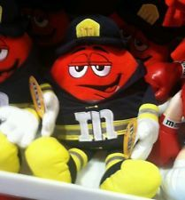 M&M'S Brand New Firefighters Plush Red