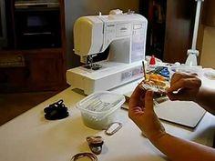 How to Make Doll Shoes - V Sandals Pt. 5