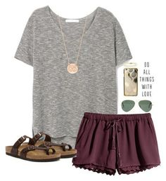 150 pretty casual shorts summer outfit combinations (112)