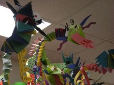 WHAT'S HAPPENING IN THE ART ROOM??: 3rd Grade Chinese Dragons