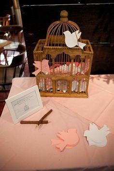 Love Bird Place Cards / http://www.himisspuff.com/love-birds-wedding-ideas-youll-love/3/