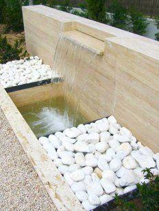Fuente moderna con cascada                                                                                                                                                     Más