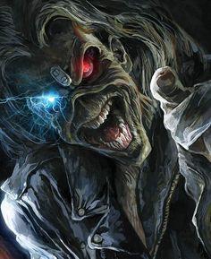 Heavy Metal Art, Heavy Metal Bands, Skull Artwork, Metal Artwork, Iron Maiden Band, Eddie Iron Maiden, Iron Maiden Mascot, Arte Pink Floyd, Iron Maiden Posters