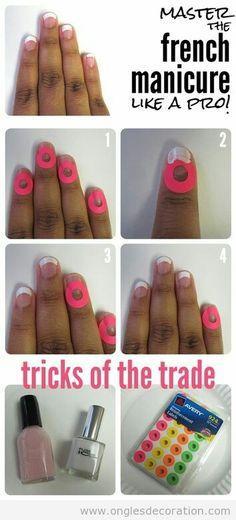 Une manicure bien faite