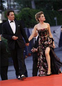 Johnny Depp y Amber Heard, amor en Venecia