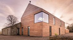 Shawm House - Passivhaus Northumberland House by Mawson Kerr. Nominated as RIBA house of the year 2017 British Architecture, Modern Architecture, Grand Designs Houses, Grand Designs Uk, Eco Friendly House, Prefab Homes, New Homes, House Design, Design Design
