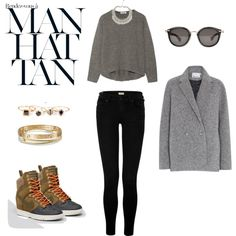 """streer style"" by roxcherie on Polyvore"