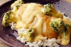 Cheesy Chicken Simmer Printable Recipe - My Honeys Place