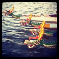 Dragonboat racing...I start tomorrow!!!!