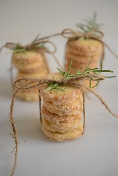 rosemary butter cookies by martha stewart