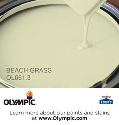 BEACH GRASS OL661.3 is a part of the greens collection by Olympic® Paint.