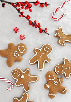 Gingerbread Man Cookies | Mogwai Soup
