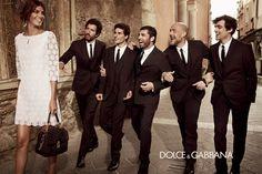 Dolce FW13 Women's adv campaign by Giampaolo Sgura featuring Bianca Balti, Monica Bellucci and Bianca Brandolini D'Adda
