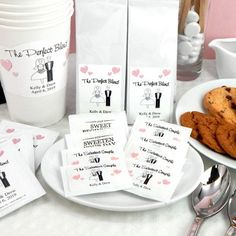 Personalized Bridal Sweetener Packet by Beau-coup