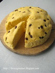 My Little Space: Gold Dust Steamed Sponge Cake