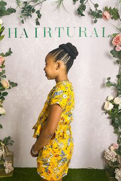 Natural Hair Salons, Natural Hair Styles, Natural Hairstyles For Kids, No Heat, Box Braids Hairstyles, Jada, Hair Care, Kid Hair, Braid