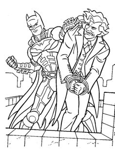Batman Coloring Page 45
