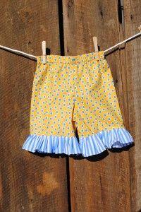 Shorts -Yellow dot