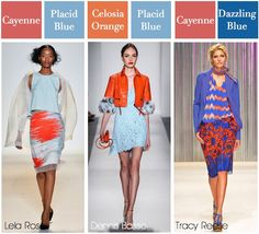 Spring 2014 colors of the runway!