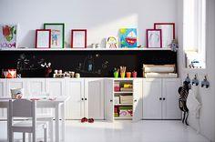 Home White Home: Suunnitelmia esikoululaisen huoneeseen