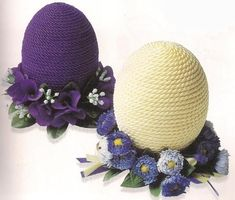 Ideas for crochet basket easter spring Cool Easter Eggs, Easter Egg Crafts, Easter Egg Designs, Diy Ostern, Coloring Easter Eggs, Easter Crochet, Egg Art, Easter Holidays, Egg Decorating