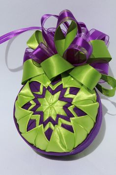 Quilted Christmas Ornament by CraftersEmporium1 on Etsy