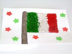 Get out the rice and food coloring! We're making a Mexican Flag with Rice for Cinco de Mayo. Kids are going to have a blast making
