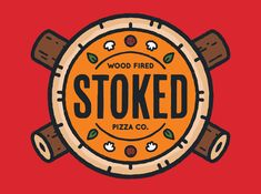 Scott Williams / Logo - Stoked Wood Fired Pizza Co.