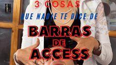 3 cosas que NADIE te dice de BARRAS DE ACCESS Access Bars, Decir No, Tech Companies, Youtube, Company Logo, Microwaves, Barbell, Hipster Stuff, Youtubers
