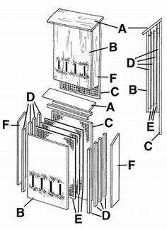 Image result for Printable Bat House Plans