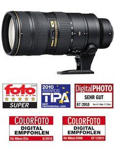 Nikon Deutschland - NIKKOR-Objektive - AF-Objektive - Kleinbild-/FX-Objektive - Zoomobjektive - AF-S NIKKOR 70-200 mm 1:2,8G ED VR II - Digital Cameras, D-SLR, COOLPIX, NIKKOR Lenses