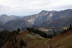 Hiking in the German Alps