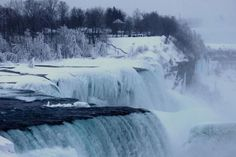 Spectacular Views of Frozen Niagara Falls: Spring is still just out of reach.